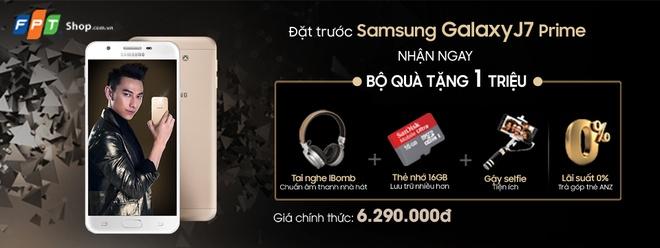 FPT Shop tang 1 trieu dong khi dat mua Galaxy J7 Prime hinh anh 2