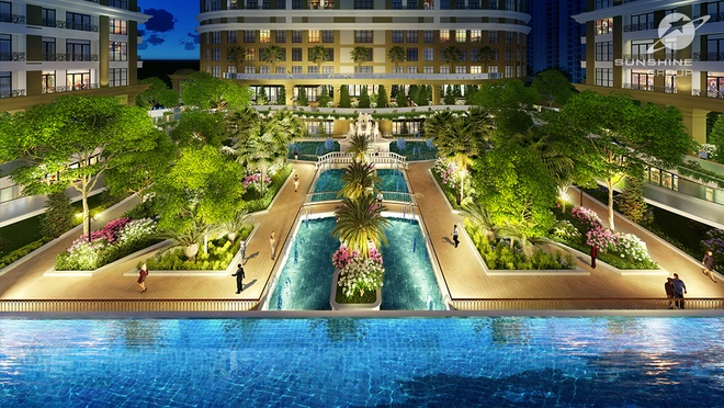 Sunshine Garden: Bieu tuong moi tai cua ngo Dong Nam Ha Noi hinh anh 4