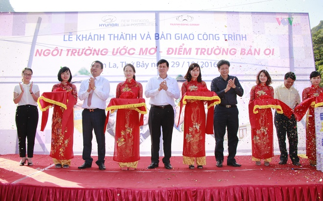 Hyundai Thanh Cong khanh thanh truong mam non tai Son La hinh anh 1