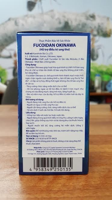 Cach nhan biet Okinawa Fucoidan chinh hang hinh anh 3