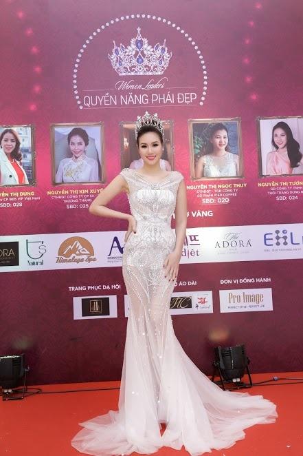 Hoa hau Kim Nguyen rang ro tai chung ket Quyen nang Phai dep hinh anh 1