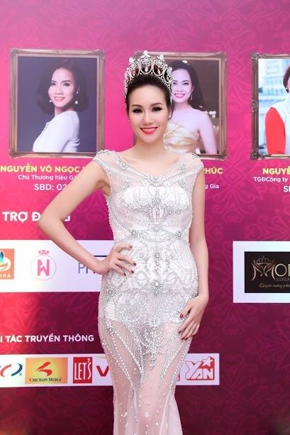 Hoa hau Kim Nguyen rang ro tai chung ket Quyen nang Phai dep hinh anh 2