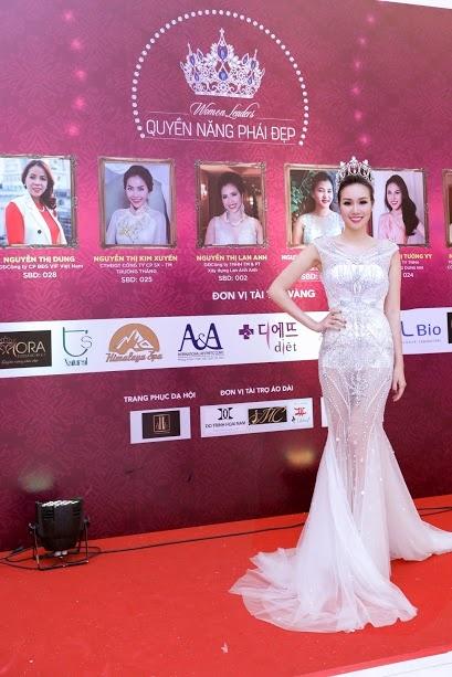 Hoa hau Kim Nguyen rang ro tai chung ket Quyen nang Phai dep hinh anh 3