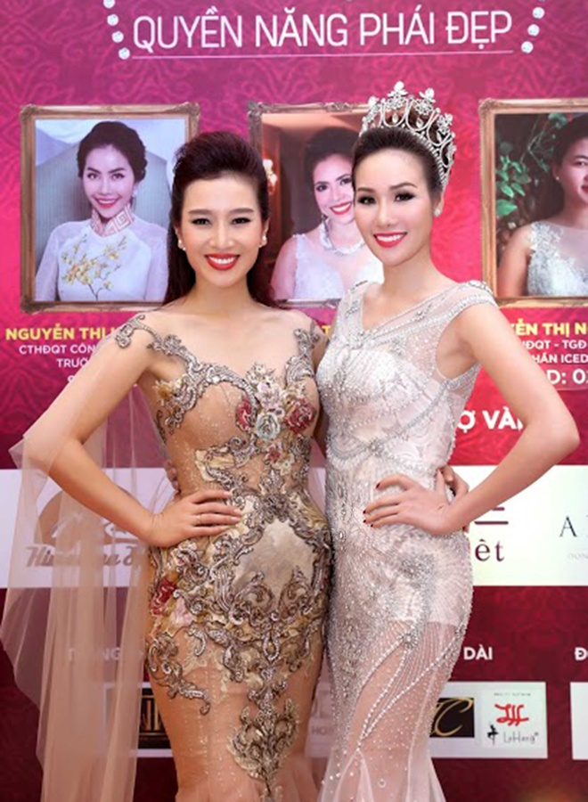 Hoa hau Kim Nguyen rang ro tai chung ket Quyen nang Phai dep hinh anh 6