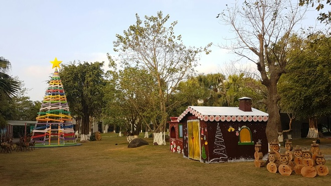 ecopark, Ngay hoi Giang sinh gia dinh 2016 anh 4