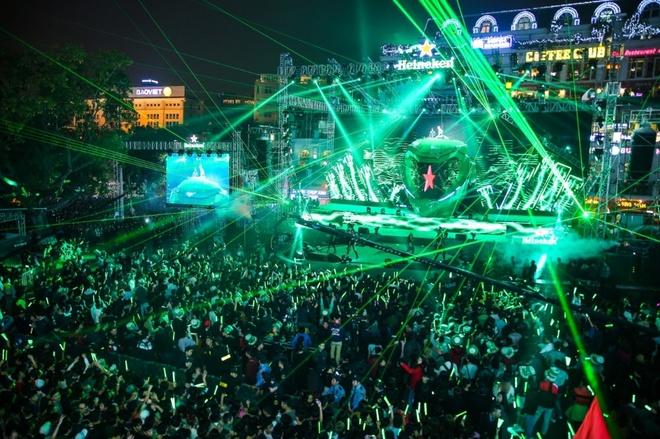 5 diem an tuong cua Heineken Countdown Party hinh anh 2