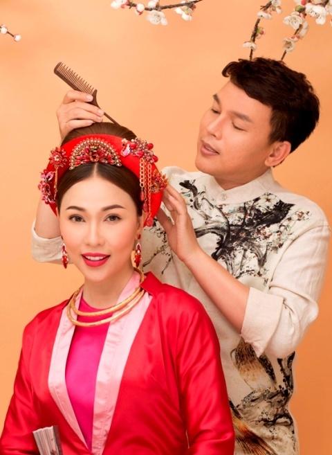 Ho Khanh goi y trang diem theo phong cach hoang gia don Tet hinh anh 5