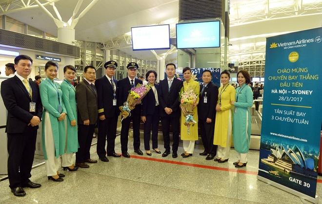 Vietnam Airlines chinh thuc khai truong duong bay Ha Noi - Sydney hinh anh 1