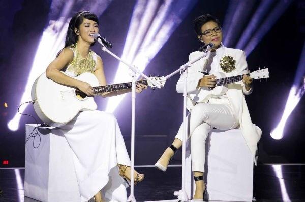 Diva Hong Nhung ket hop cung hoc tro Vu Cat Tuong trong CD moi hinh anh 3