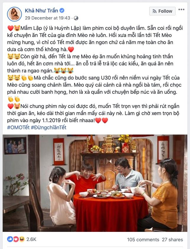 Clip 'Sao lai an Tet' cua Huynh Lap noi thay noi long gioi tre hinh anh 2