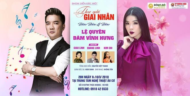 Mr Dam, Le Quyen hoi ngo trong dem nhac 'Thu gui giai nhan' hinh anh 3