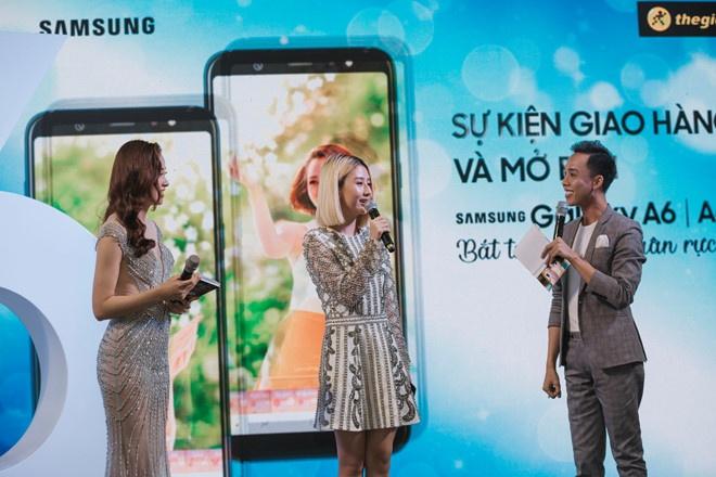 Dai dien Samsung: 'Galaxy A6/A6+ huong den gioi tre me chup anh' hinh anh 2