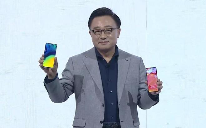 BlackPink xuat hien o man ra mat Galaxy A80 hinh anh 16