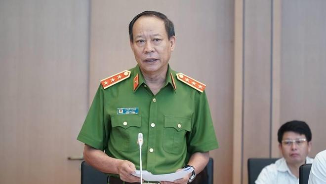 Thượng tướng Lê Quý Vương - Thứ trưởng Công an nhận định vụ án nữ sinh giao gà ở Điện Biên bị sát hại là vụ án rất phức tạp. Ảnh:Hoài Vũ.