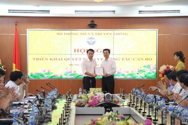 Ong Nguyen Huy Dung lam Cuc truong An toan thong tin hinh anh 1