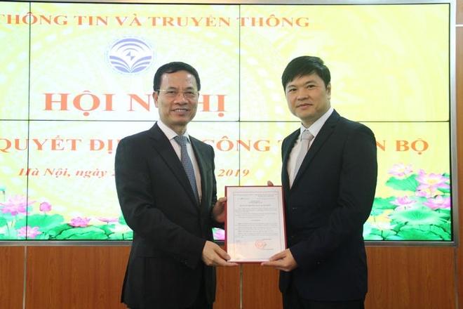 Ong Hoang Minh Cuong lam Cuc truong Vien thong hinh anh 1