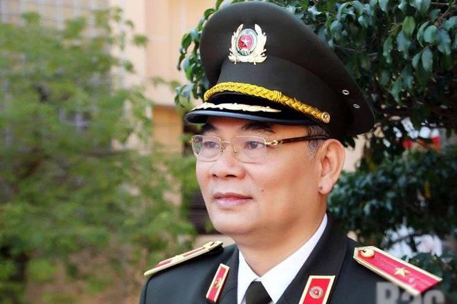 Thiếu Tướng To An Xo Lam Chanh Văn Phong Bộ Cong An Phap Luật