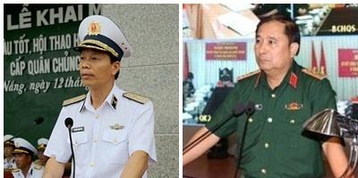 2 tướng quân đội được bổ nhiệm làm Phó tổng Tham mưu trưởng QĐND
