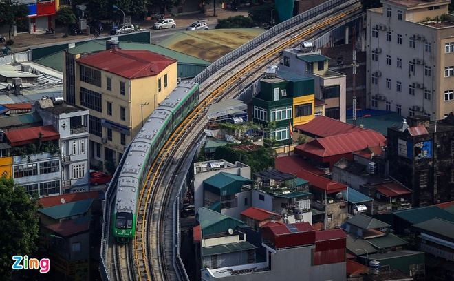 Báo cáo Ban Bí thư vướng mắc của dự án đường sắt Cát Linh – Hà Đông