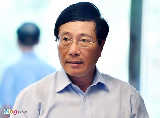 Phó thủ tướng Phạm Bình Minh nói về vụ 39 người chết trong container