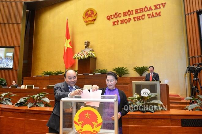 Quốc hội bỏ phiếu kín bầu Chủ nhiệm Ủy ban Pháp luật