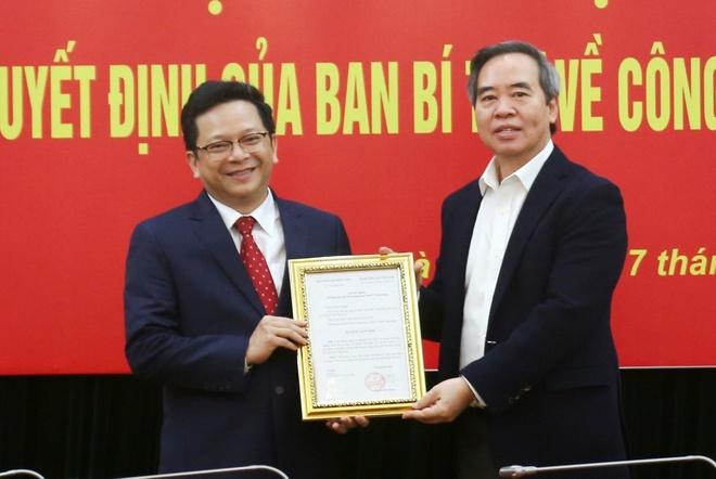 bo nhiem Pho truong Ban Kinh te Trung uong anh 1