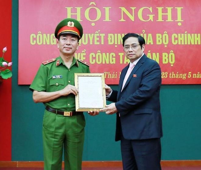 Thai Nguyen co tan bi thu, Bo Cong an co tan thu truong hinh anh 1 2_414__1.jpg