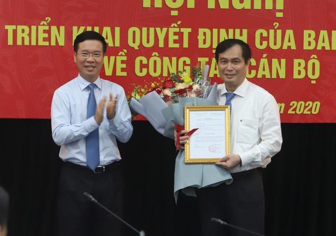 Ban Bi thu bo nhiem Pho truong ban Tuyen giao Trung uong anh 1