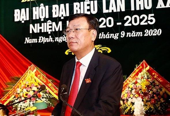 Bi thu Tinh uy Nam Dinh Doan Hong Phong anh 1