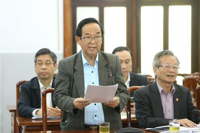 gop y du thao van kien trinh Dai hoi Dang XIII anh 2