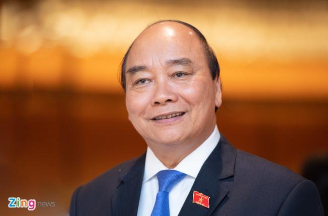 ong Nguyen Xuan Phuc tro thanh Chu tich nuoc anh 1