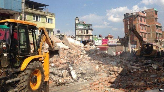 68 nguoi chet sau dong dat 7,3 do Richter o Nepal hinh anh 23