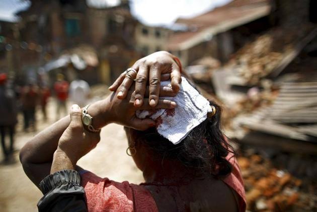 68 nguoi chet sau dong dat 7,3 do Richter o Nepal hinh anh 25