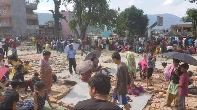 68 nguoi chet sau dong dat 7,3 do Richter o Nepal hinh anh 21
