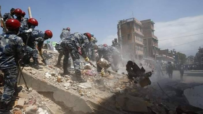 68 nguoi chet sau dong dat 7,3 do Richter o Nepal hinh anh 22