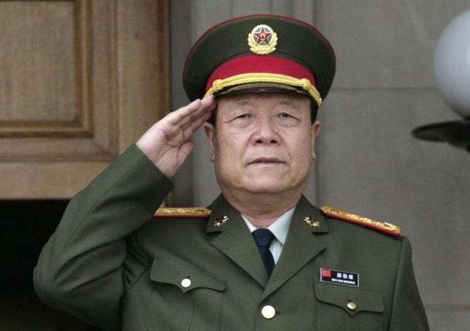 Ông Quách Bá Hùng, nguyên phó chủ tịch Quân ủy trung ương Trung Quốc vừa bị truy tố vì tội tham nhũng - Ảnh: AFP