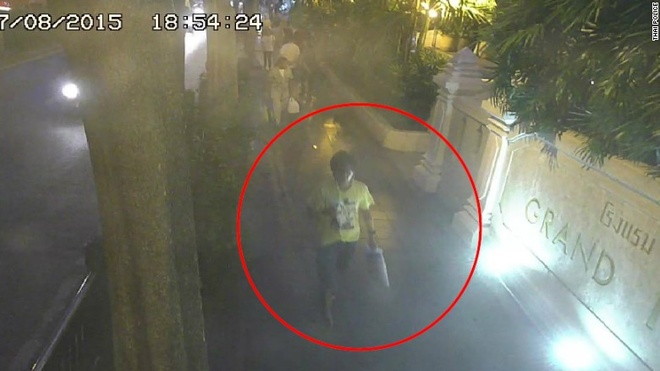 Truy tim mot phu nu trong vu danh bom Bangkok hinh anh