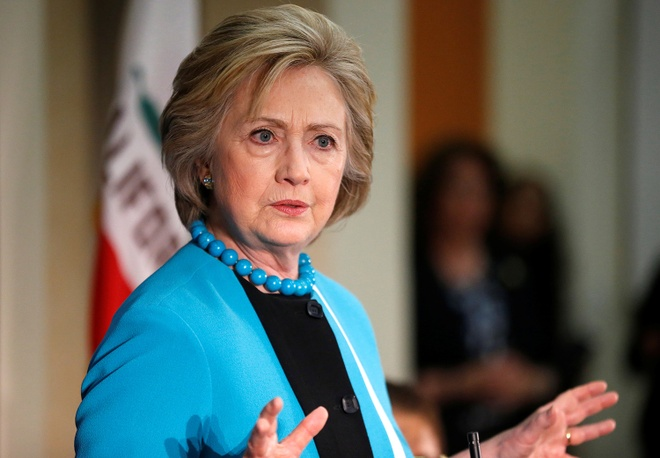 Hillary Clinton - ung vien cua nhieu nghich ly hinh anh
