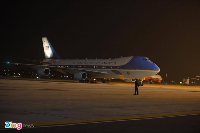 Air Force One cua Obama toi Ha Noi som hon du kien hinh anh 1