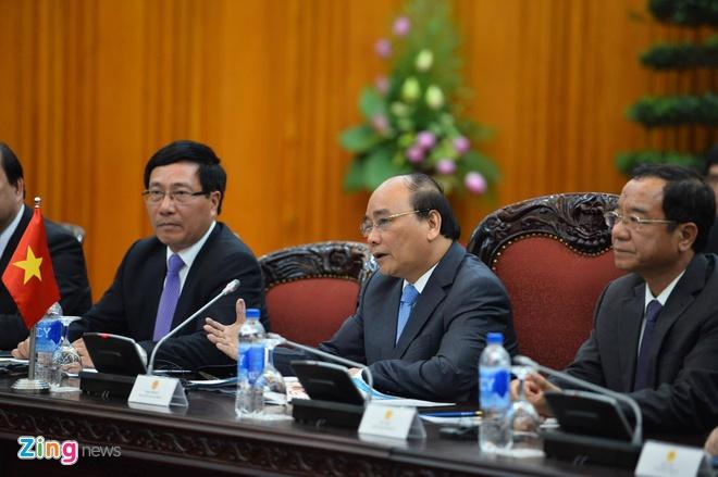 Tong thong Obama hoi kien Tong Bi thu Nguyen Phu Trong hinh anh 2