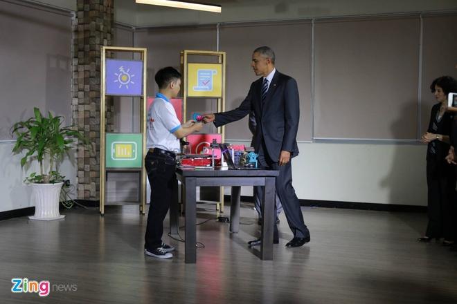 Tong thong Obama doi thoai voi gioi startup Viet hinh anh 7