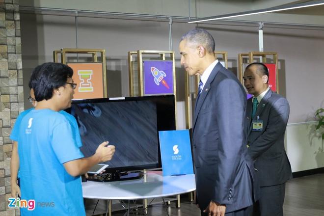 Tong thong Obama doi thoai voi gioi startup Viet hinh anh 5