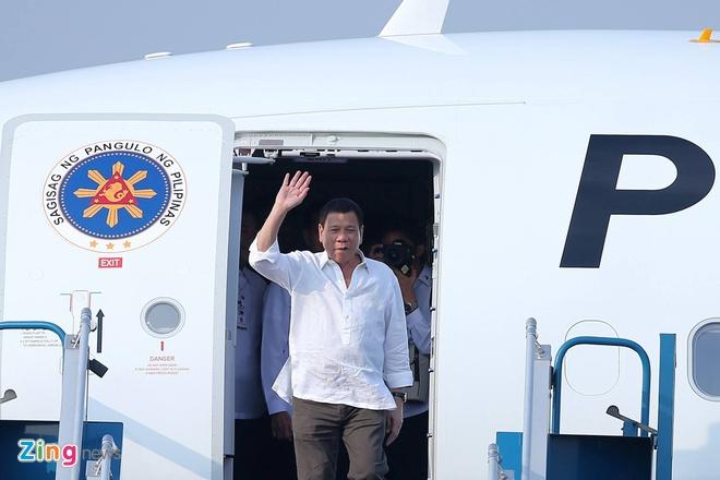Tong thong Philippines Duterte den Ha Noi hinh anh 1