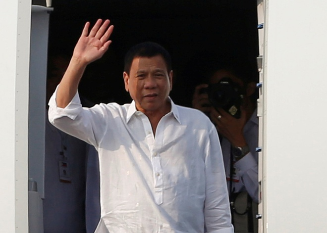 Tong thong Philippines Duterte den Ha Noi hinh anh