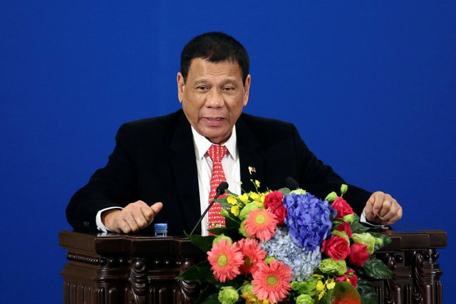 Tong thong Duterte tuyen bo cat dut quan he dong minh voi My hinh anh