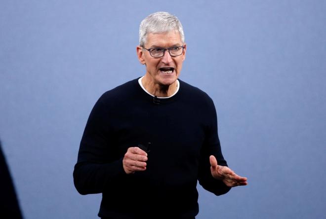 CEO Apple che bai Facebook,  Apple,  Facebook anh 1