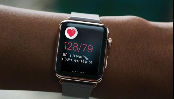 Apple Watch theo doi suc khoe,  Apple Watch,  Apple anh 1