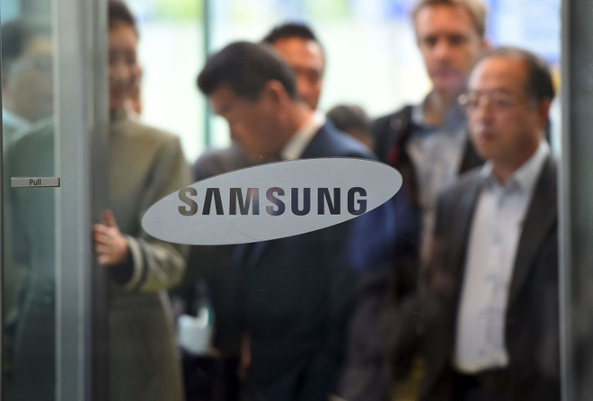 Lanh dao Samsung bi trieu tap vi be boi cua Tong thong Han hinh anh