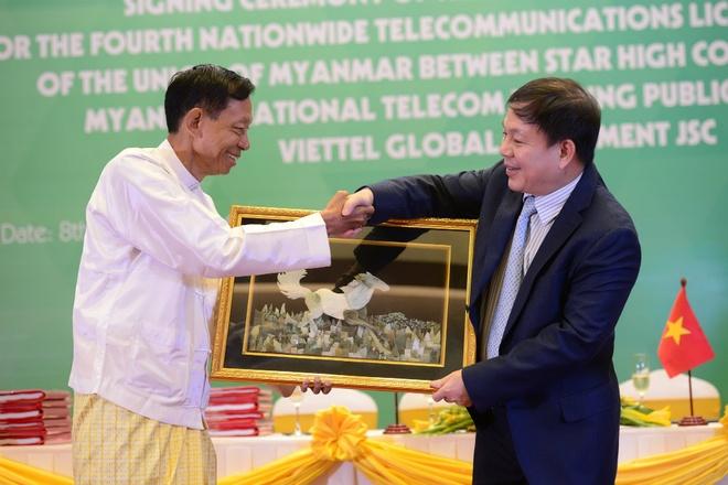 Viettel chinh thuc duoc cap phep dau tu tai Myanmar hinh anh 1