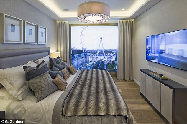Penthouse 20 trieu bang Anh nhin ra song Thames o London hinh anh
